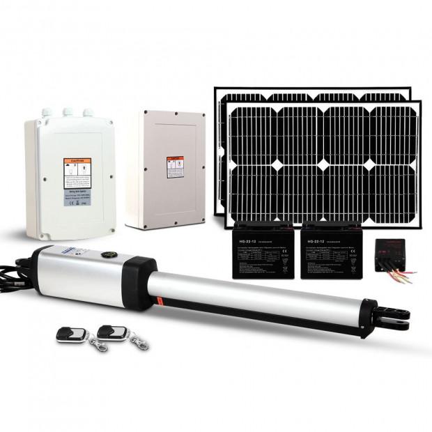 LockMaster Gate Opener 40W Auto Solar Power Remote Control 600KG