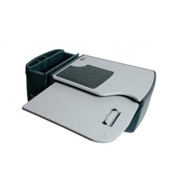 Grip Master Versatile Car Desk with Slide out Tray Storage File