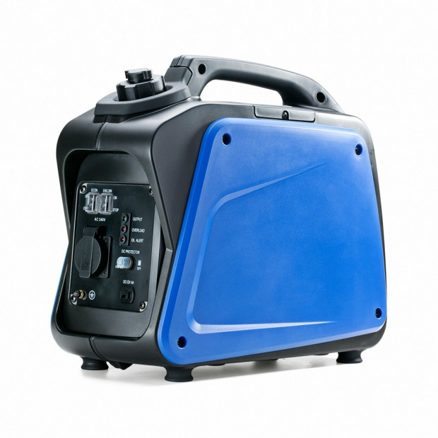 GenTrax 1000w PureSine Silent Portable Petrol Compact Generator Image 3