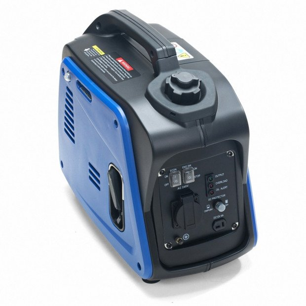 GenTrax 1000w PureSine Silent Portable Petrol Compact Generator Image 6