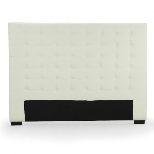 Queen Size Linen Fabric Bed Head Headboard - Beige
