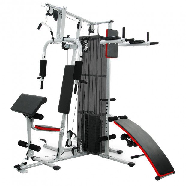 Powertrain Multi-Station Home Gym with  weights