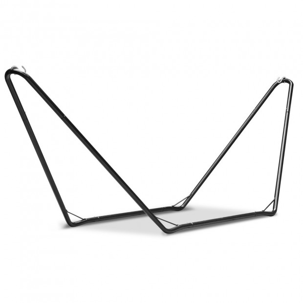 Free Standing Hammock Bed with Steel Frame - Cream model c Image 4