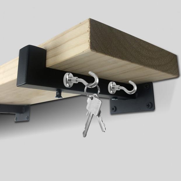 10x 5.5kg Strong Magnet Hooks Rare Earth Neodymium Magnetic Hanger Image 2