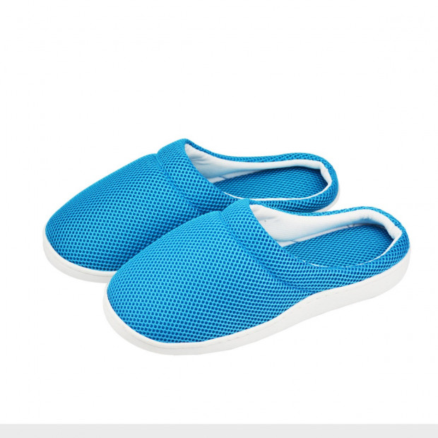 Unisex Anti-fatigue Bamboo Gel Slippers - Large