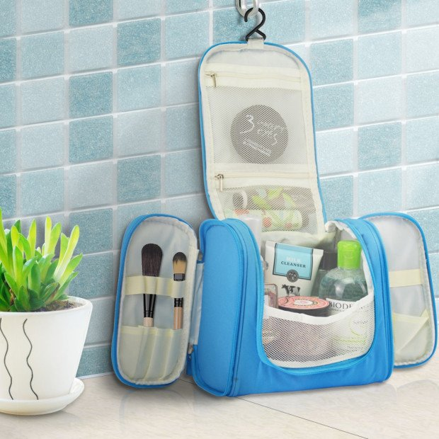 Travel Cosmetic Makeup Bag Toiletry Case
