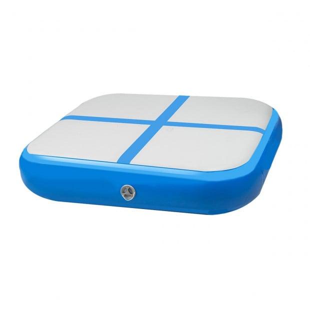 1m Airtrack Block Tumbling Mat Gymnastics Exercise Air Track - Blue