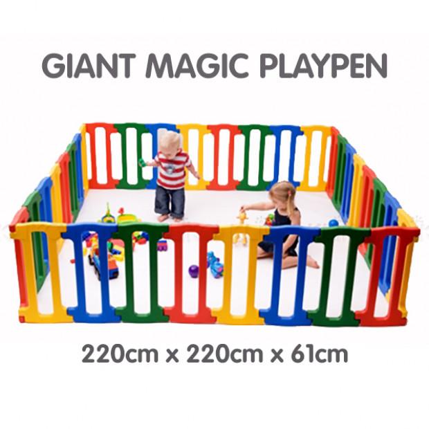 Giant Jolly Kidz Magic Panel Playpen