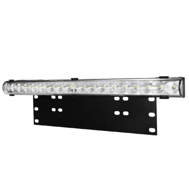 20inch LED Light Bar & Number Plate Frame I 4WD Car Truck