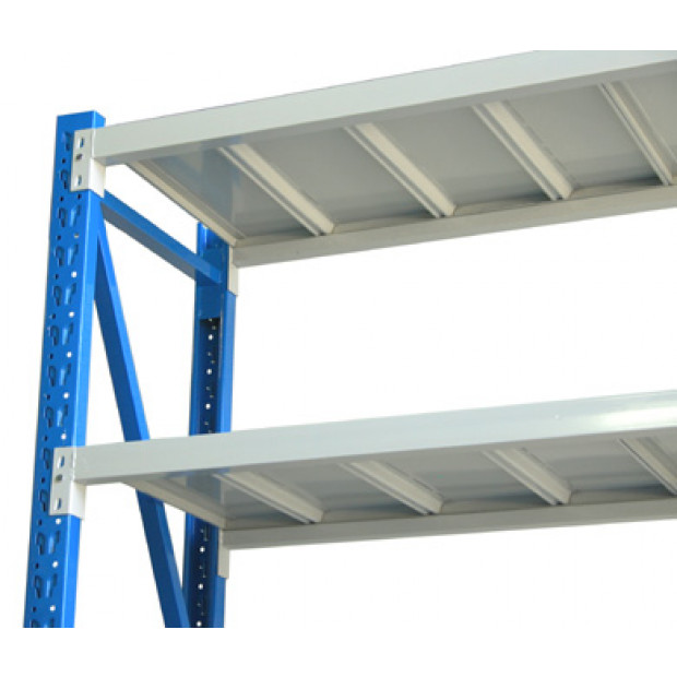 3-Bay shelving 6m-wide 2000kg Image 2