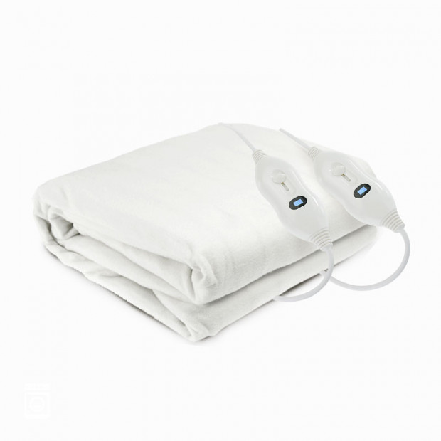 Polyester Fitted Electric Blanket - Queen