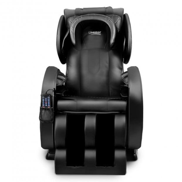Livemor Electric Massage Chair - Black Image 2