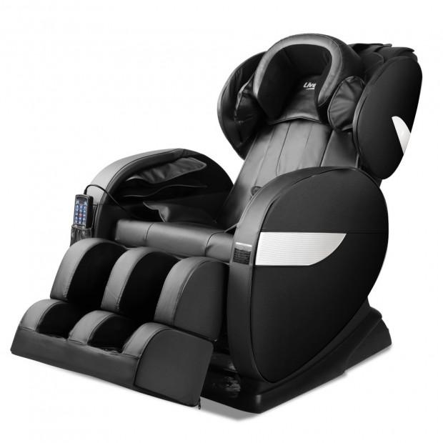 Livemor Electric Massage Chair - Black Image 3