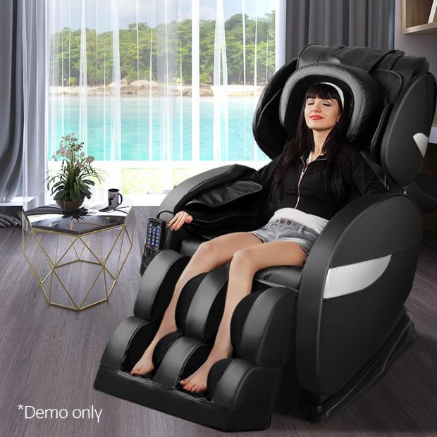 Livemor Electric Massage Chair - Black Image 8