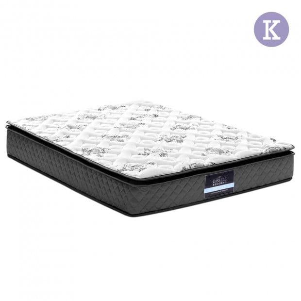 King Size Pillow Top Foam Mattress
