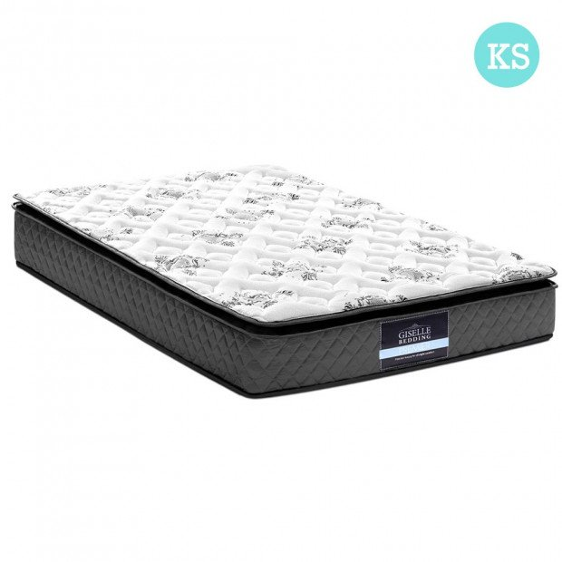 King Single Size Pillow Top Foam Mattress