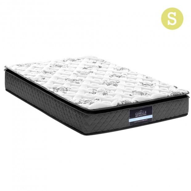 Single Size Pillow Top Foam Mattress