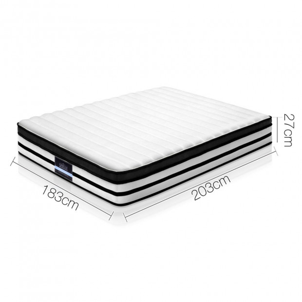 King Size 27cm Thick Foam Mattress Image 1