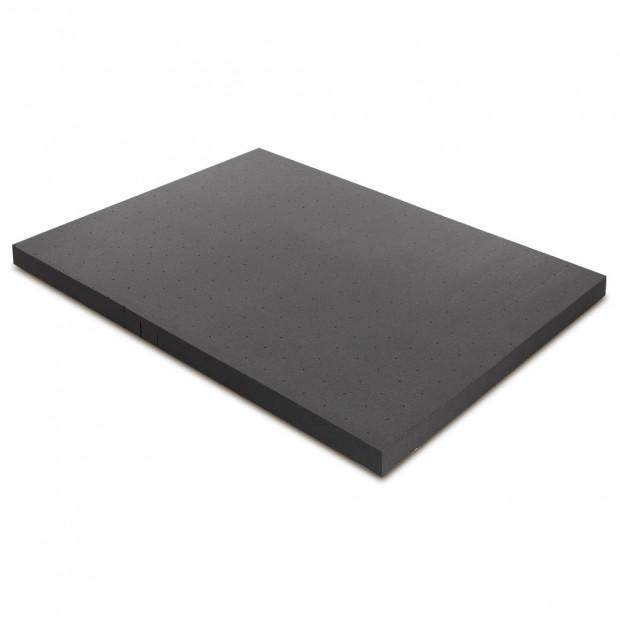 Bedding Bamboo Charcoal Memory Foam Mattress Topper Queen 8CM Underlay