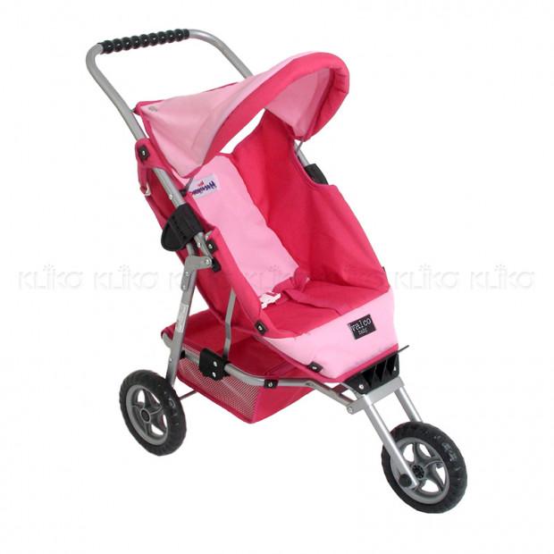 Valco Baby Mini Marathon Doll Stroller - Pink