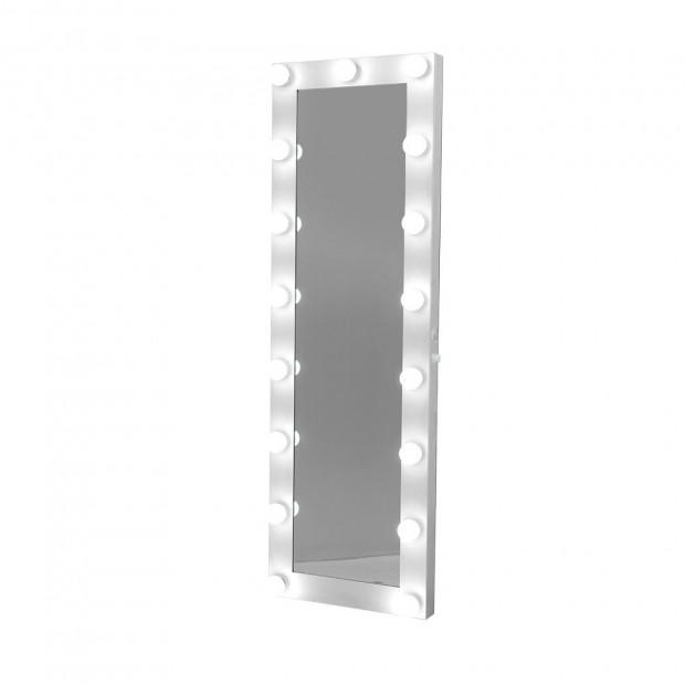 Full Length Mirror Floor Standing Makeup Wall Light Bulbs 1.5M Mirror
