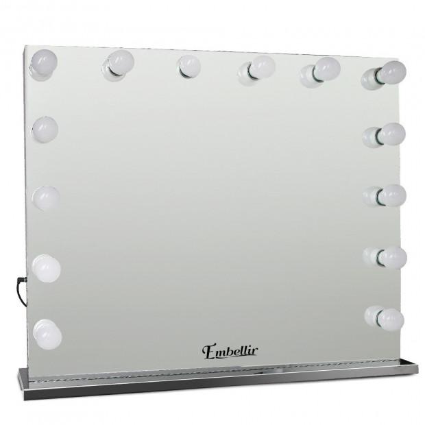 Make Up Mirror Lightweight Frame with LED Lights 65x80cm
