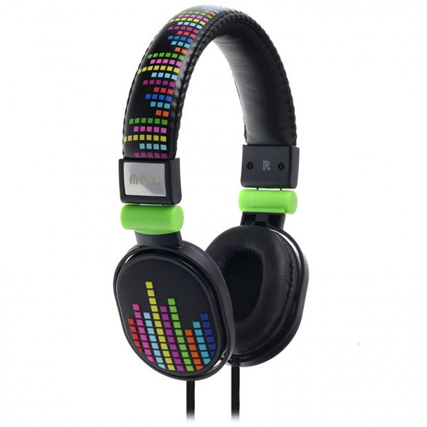 Moki Popper Headphones - Levels Black