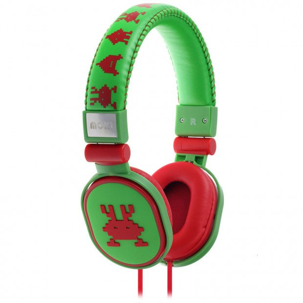 Moki Popper Headphones - Martian Green