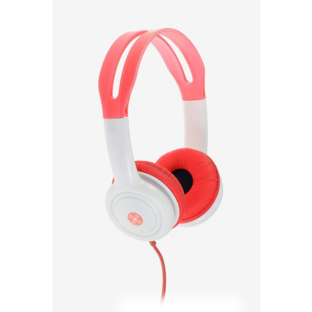 Moki Volume Limited Headphones for Kids - Red