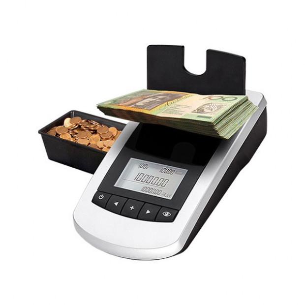 Money Counter for Coins and Banknotes Machine Scale