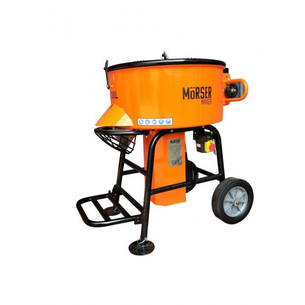 120L Morser Forced Action Pan Mixer Cement Render Adhesives 220V Image 1