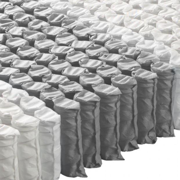 35cm Pocket Spring Foam Euro Top Mattress King Single Image 1