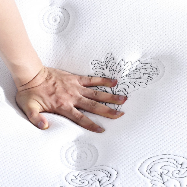 35cm Pocket Spring Foam Euro Top Mattress King Single Image 3