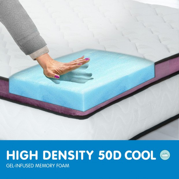 Memory Foam Cool Gel Infused King Mattress Image 8