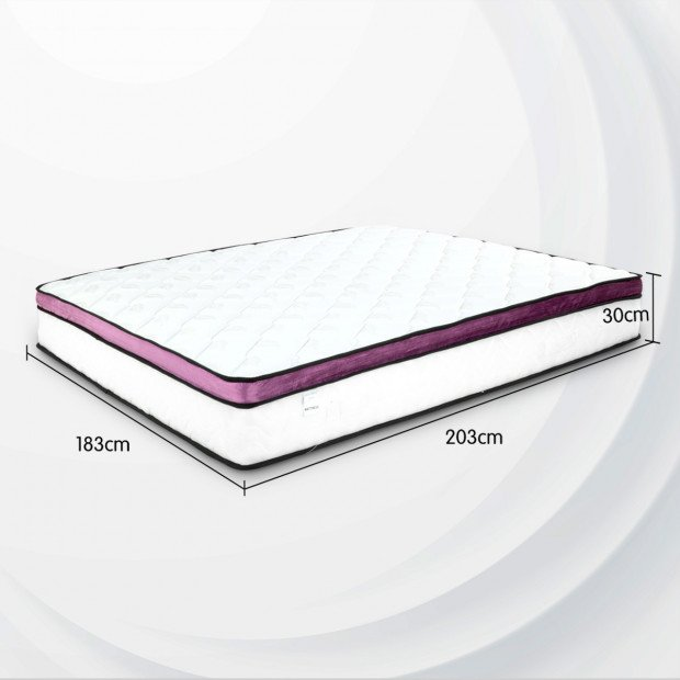 Memory Foam Cool Gel Infused King Mattress Image 5