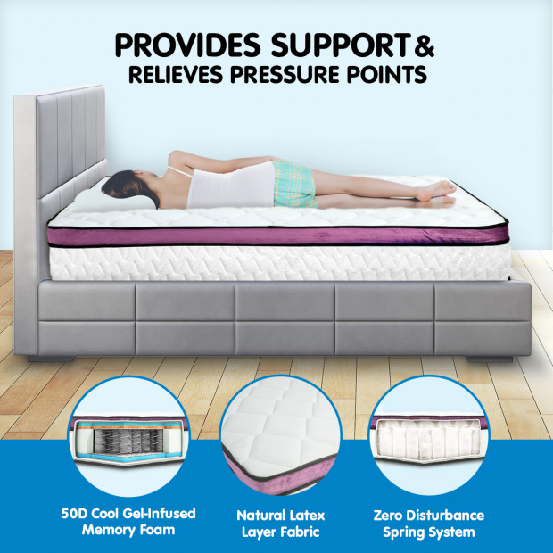 Memory Foam Cool Gel Infused King Mattress Image 10