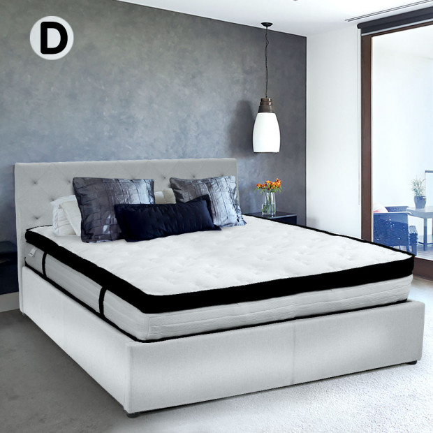 Laura Hill Double Mattress with Euro Top Layer - 32cm