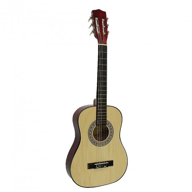Childrens no-cut acoustic guitar - Natural