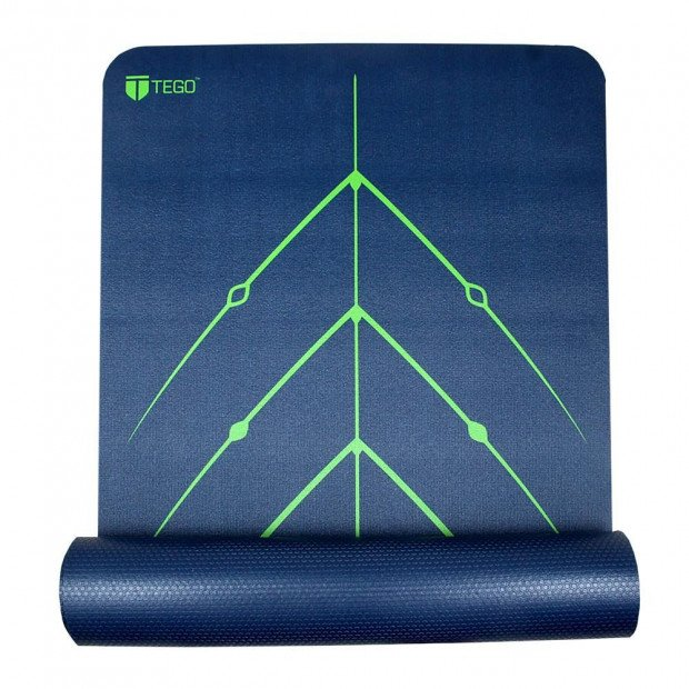 Tego Stance Reversible Mat With Guildalign - Blue Spring Green