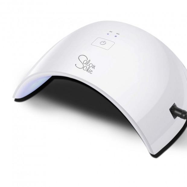 24w LED Uv Nail Dryer Polish Lamp In White