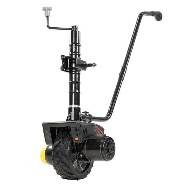 Gen2 12V 550W Electric Motorised Jockey Wheel Mini Mover - Black