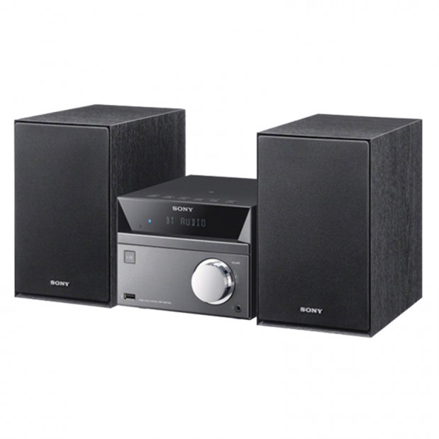 Sony CMTSBT40D Bluetooth CD/DVD/Tuner Micro Hi-Fi System with USB