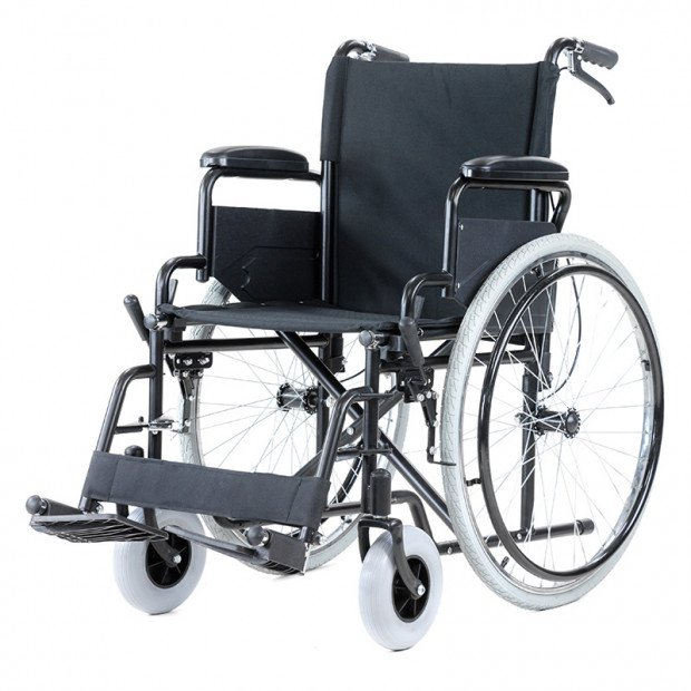 Orthonica 24in Wheelchair with Smooth Glide Tubes - Senator