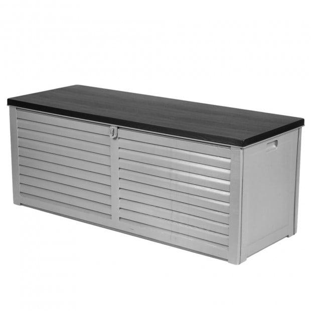 Outdoor Storage Box Bench Seat 390L