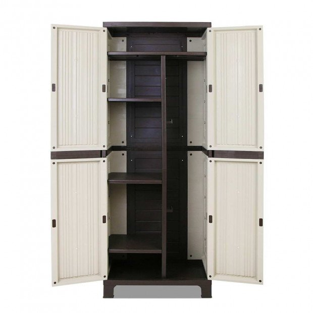 Outdoor Lockable Tall Size Adjustable Cabinet Cupboard - H1D Image 4