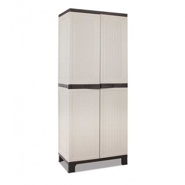 Outdoor Lockable Tall Size Adjustable Cabinet Cupboard - H2D