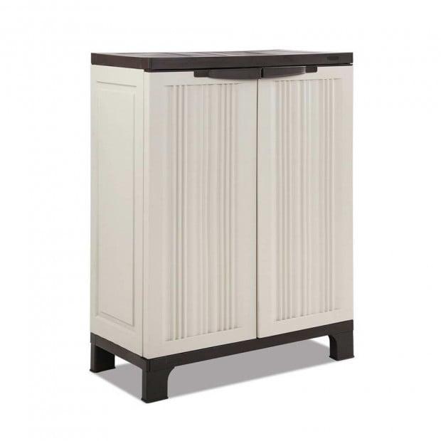 Outdoor Lockable Half Size Adjustable Cabinet Cupboard - L1F
