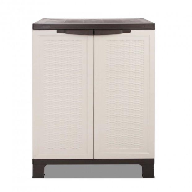 Outdoor Lockable Half Size Adjustable Cabinet Cupboard -L2F Image 2