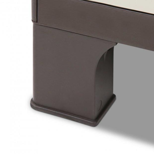 Outdoor Lockable Half Size Adjustable Cabinet Cupboard -L2F Image 6
