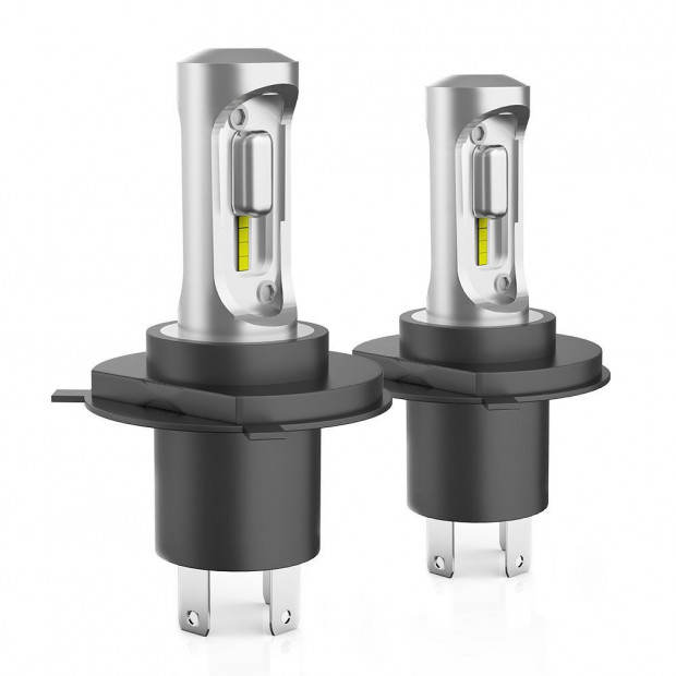 Pair LED Headlight Driving Lamp H4 HB2 9003 High Low Beam 12000LM pair